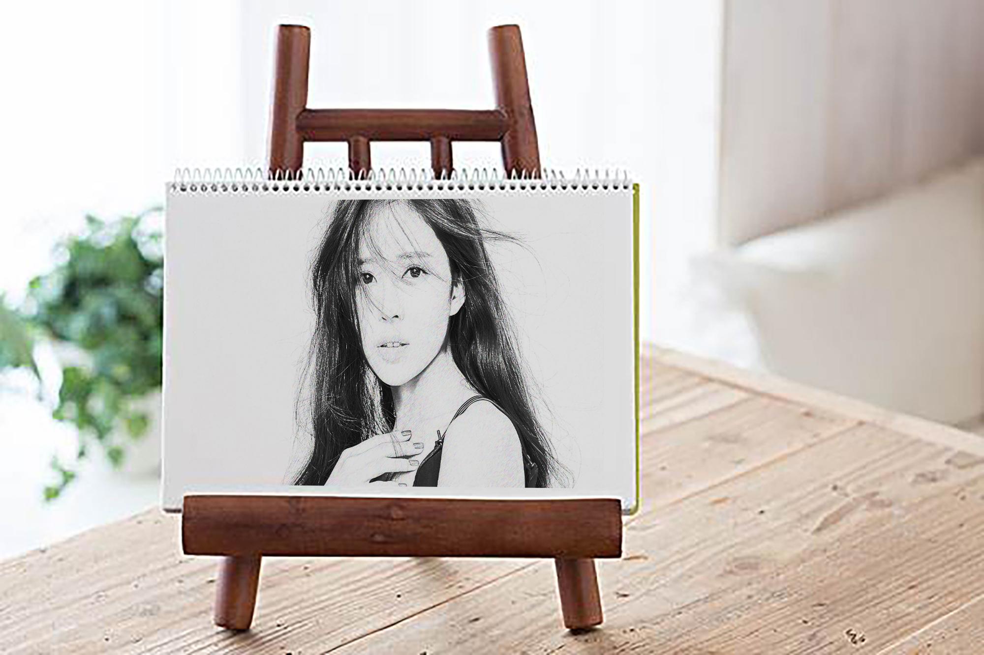 PS教程 使用ps将人物照片转为素描效果视频教程